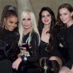 Джанет Джексон та Лана Дел Рей відвідали показ Versace