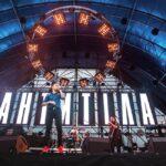 «Антитіла» відіграли великий сольний концерт на вертолітному майданчику в Києві