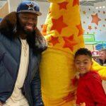 50 Cent орендував усю крамницю, щоб здійснити з сином різдвяні закупи