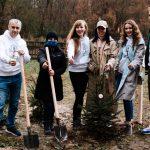 Українські селебріті висадили «Зірковий ліс» у рамках озеленення планети